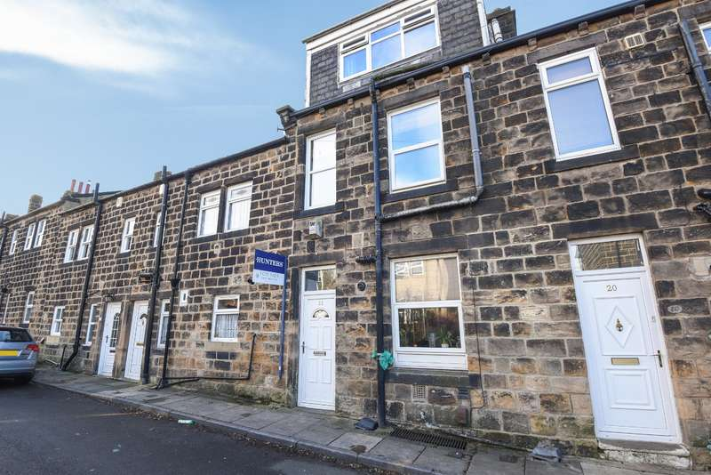 4 Bedrooms Terraced House for sale in Football, Yeadon, Leeds, LS19 7QF