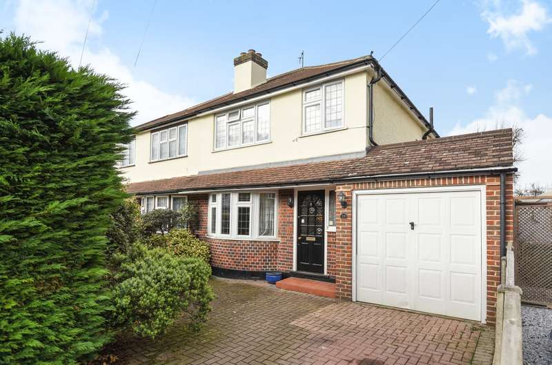 3 Bedrooms Semi Detached House for sale in Walton on Thames