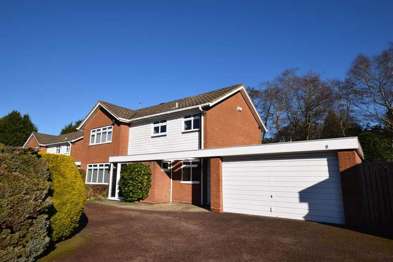 4 Bedrooms Detached House for sale in Oaken Drive, Solihull, B91 1RJ