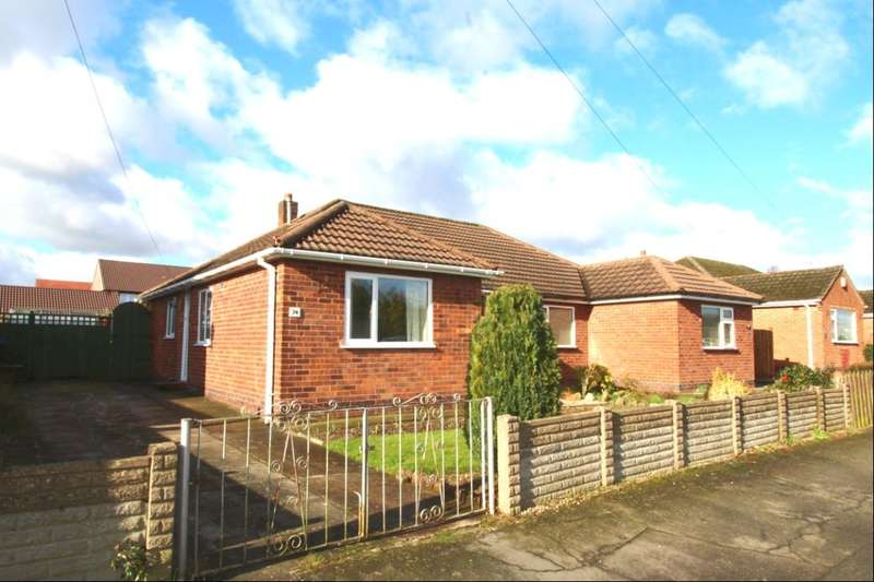 2 Bedrooms Semi Detached Bungalow for sale in St. Martins Drive, Desford, Leicester, LE9