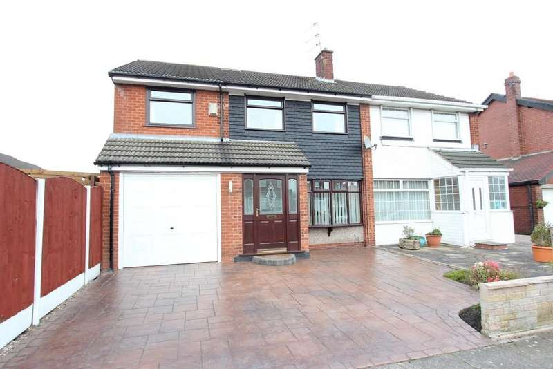 4 Bedrooms Semi Detached House for sale in Birkdale Road, South Reddish