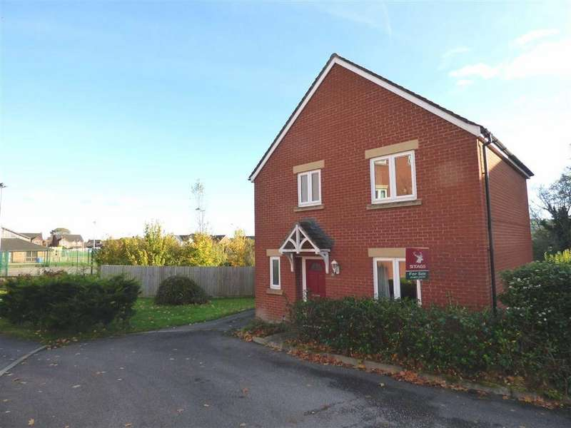 3 Bedrooms Detached House for sale in Mercers Close, Tiverton, Devon, EX16