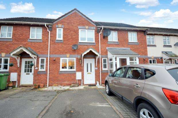 2 Bedrooms Terraced House for sale in Old Bakery Close, Exeter, Devon