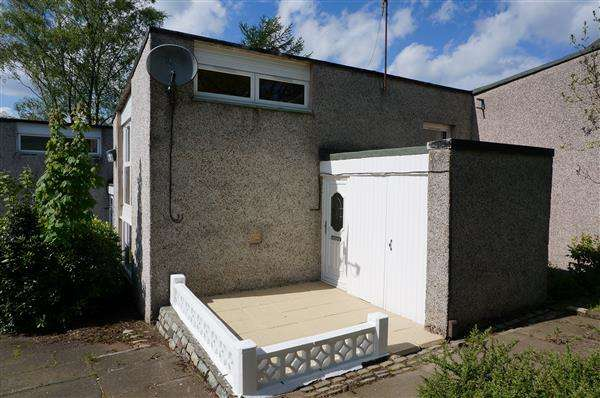 2 Bedrooms End Of Terrace House for sale in Balloch View, Cumbernauld