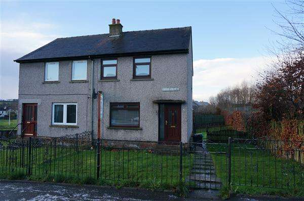 2 Bedrooms Semi Detached House for sale in Bankier Road, Banknock