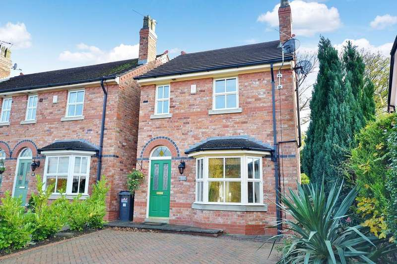 3 Bedrooms Detached House for sale in Gravel Lane, Wilmslow