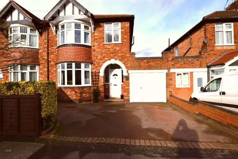 3 Bedrooms Semi Detached House for sale in Walker Road, Birstall, Leicester, LE4