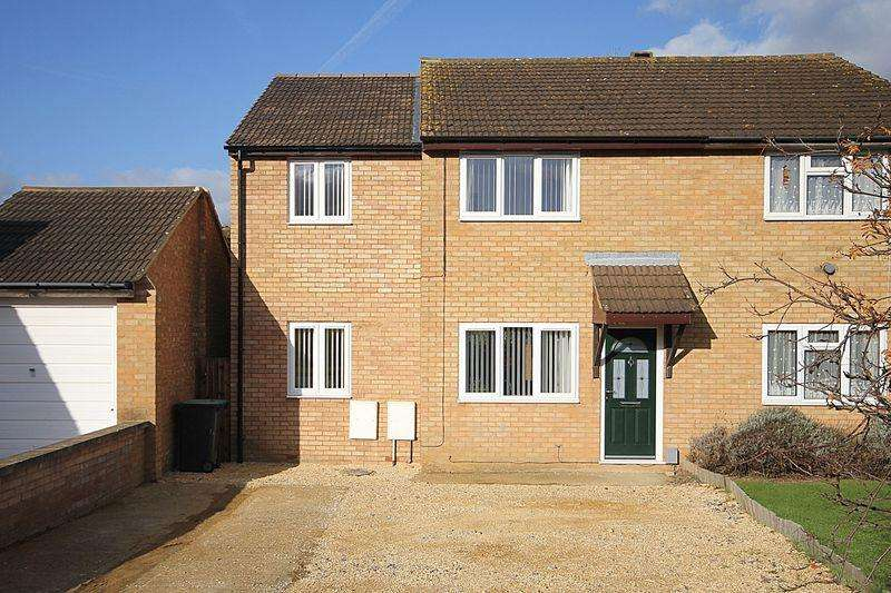 4 Bedrooms Semi Detached House for sale in Derwent Rise, Flitwick