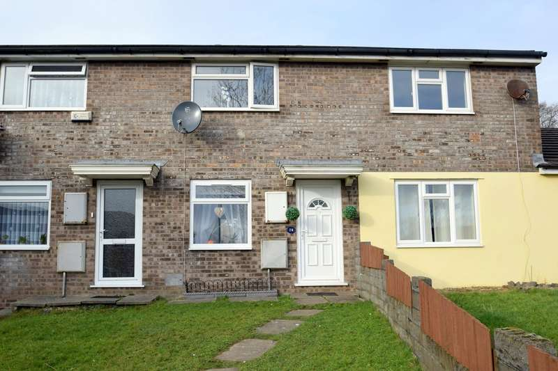 2 Bedrooms Terraced House for sale in 28 Hedgemoor, Brackla, Bridgend, Bridgend County Borough, CF31 2JQ.