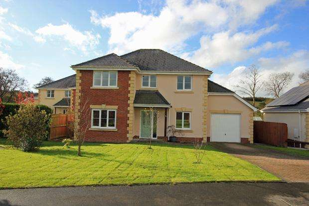 4 Bedrooms Detached House for sale in Nant Yr Ynys, Llanpumsaint, Carmarthen, Carmarthenshire