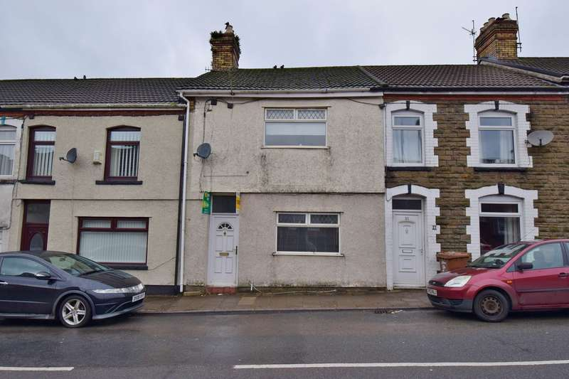 3 Bedrooms Terraced House for sale in High Street, Abertridwr, Caerphilly, CF83