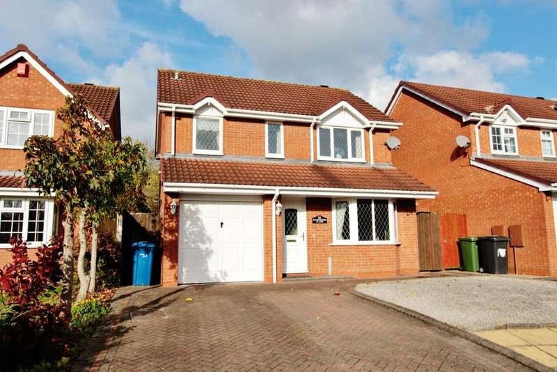 3 Bedrooms Detached House for sale in Hampshire Close, Fazeley