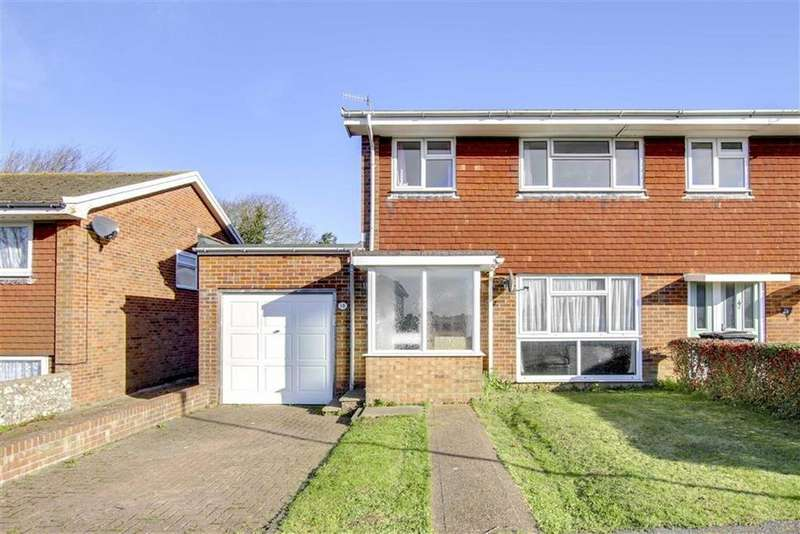 3 Bedrooms Semi Detached House for sale in Haven Brow, Seaford