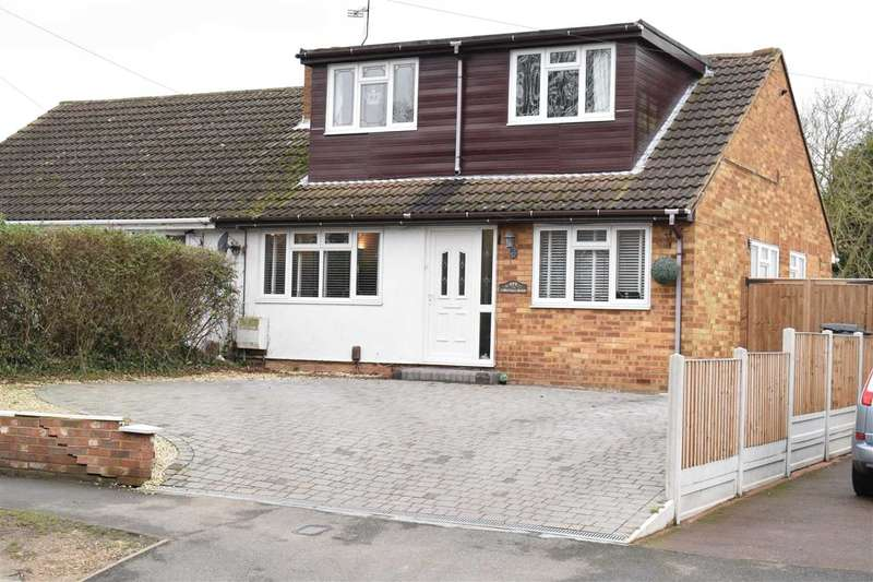 4 Bedrooms Semi Detached House for sale in Chignal Road, Chelmsford
