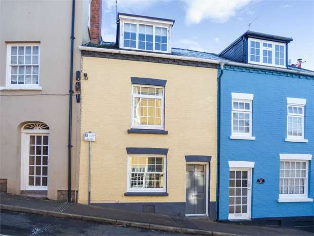 2 Bedrooms Terraced House for sale in Wye Street, Ross-on-Wye, Herefordshire