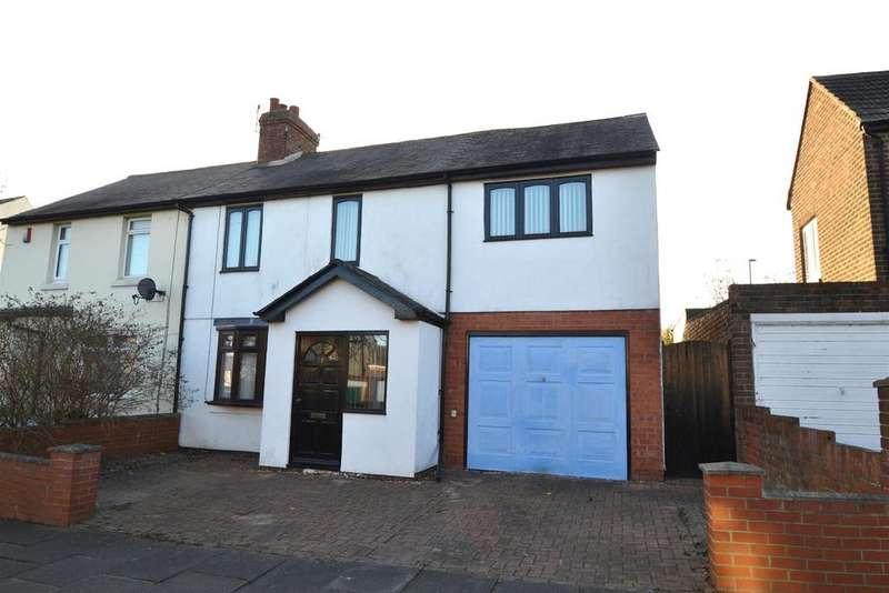 3 Bedrooms Semi Detached House for sale in Waterloo Road, West Monkseaton