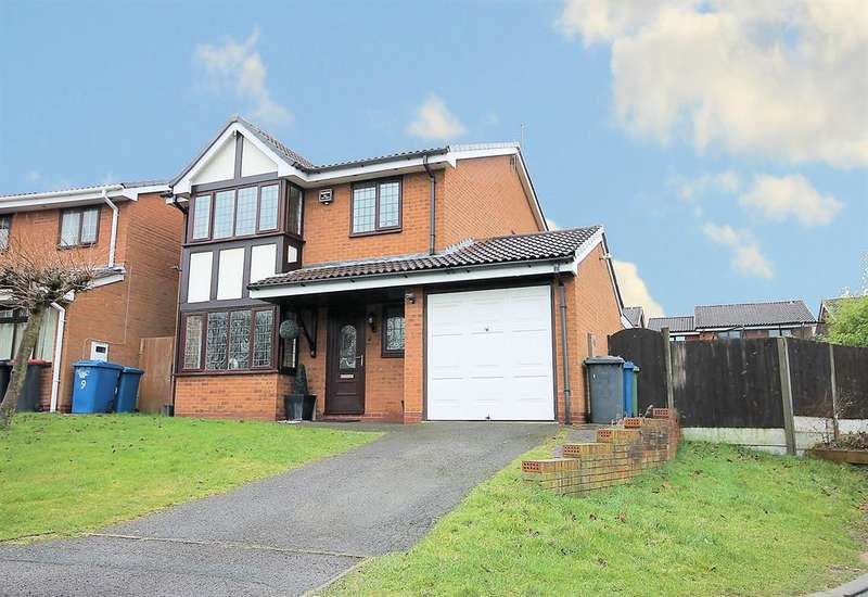 4 Bedrooms Detached House for sale in Falcon, Wilnecote, Tamworth, B77 5DN