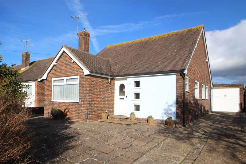 3 Bedrooms Detached Bungalow for sale in Edwin Close, Sompting, West Sussex, BN15
