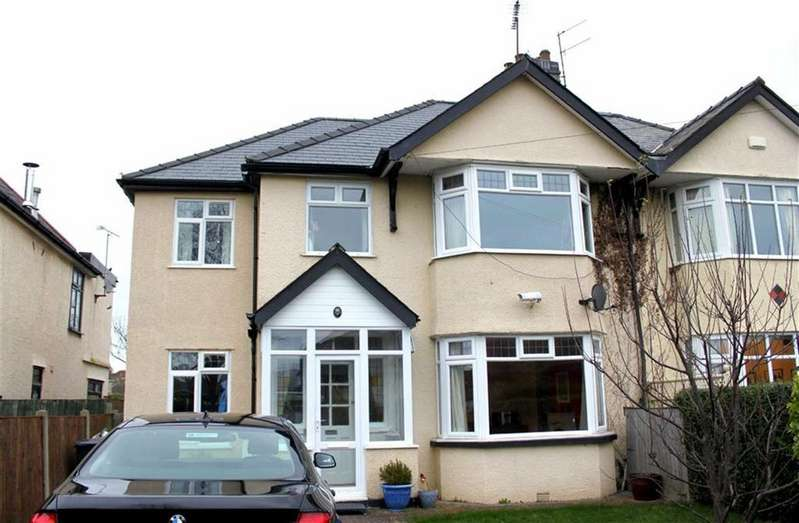 4 Bedrooms Semi Detached House for sale in Park Drive, Deganwy, Conwy