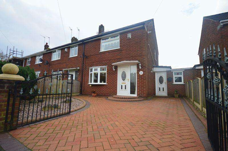 2 Bedrooms Semi Detached House for sale in Riding Hill Road, Knowsley Village