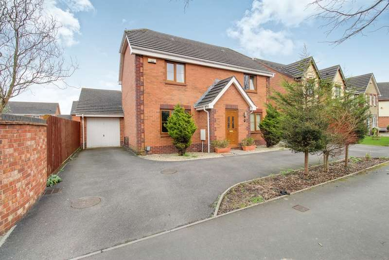 4 Bedrooms Detached House for sale in Morgraig Avenue, Newport