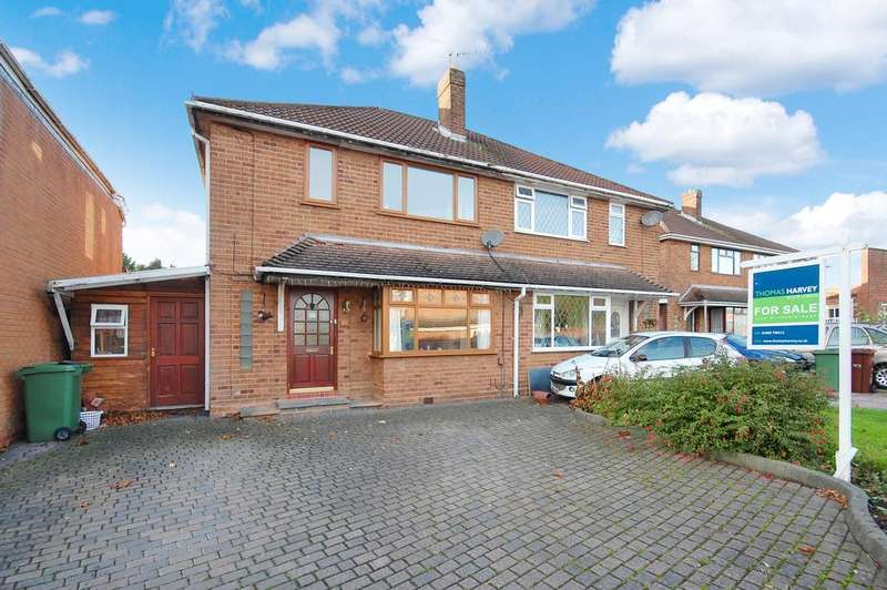 3 Bedrooms Semi Detached House for sale in MACROME ROAD, Aldersley, Wolverhampton WV6