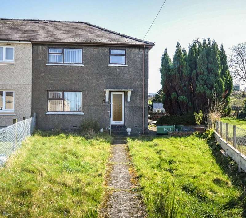 3 Bedrooms Semi Detached House for sale in Penygroes, Gwynedd, North Wales