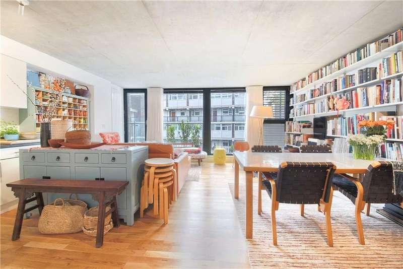 2 Bedrooms Flat for sale in Micawber Wharf, 17 Micawber Street, Islington, London, N1