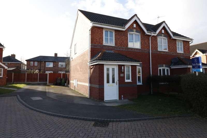 3 Bedrooms Semi Detached House for rent in Oakley Court, Ellesmere Port, CH65
