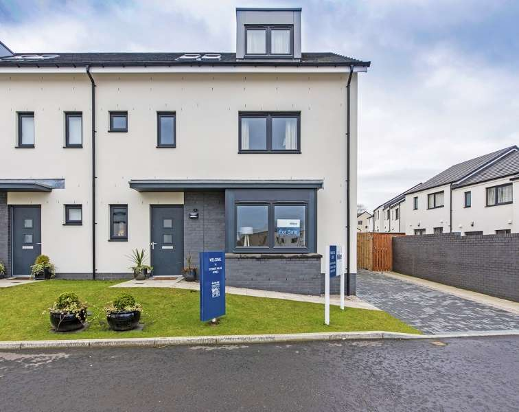 4 Bedrooms Town House for sale in Goodhope Gardens, Bucksburn, Aberdeen, AB21 9NG