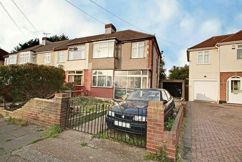 3 Bedrooms Semi Detached House for sale in Feltham, Middlesex