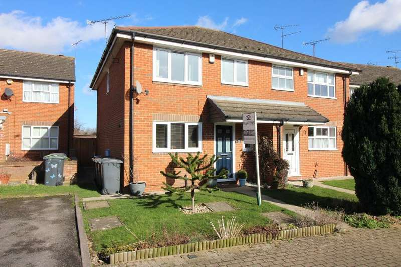 3 Bedrooms Semi Detached House for sale in Whitwell Close, Luton, Bedfordshire, LU3 4BS