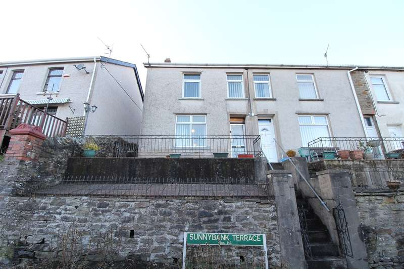 3 Bedrooms Terraced House for sale in Sunnybank Terrace, Aberbeeg, Abertillery, NP13