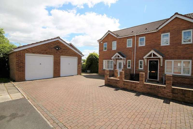 3 Bedrooms Semi Detached House for sale in Hive Close, Stockton-On-Tees