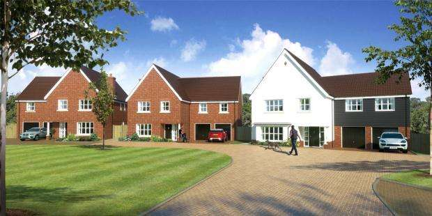 3 Bedrooms Semi Detached House for sale in Moorefield, Pampisford Road, Great Abington, Cambridge, Cambridgeshire
