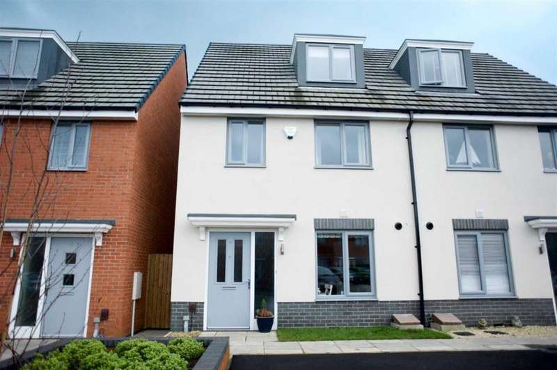 3 Bedrooms Semi Detached House for sale in Spindle Grove, Darlington