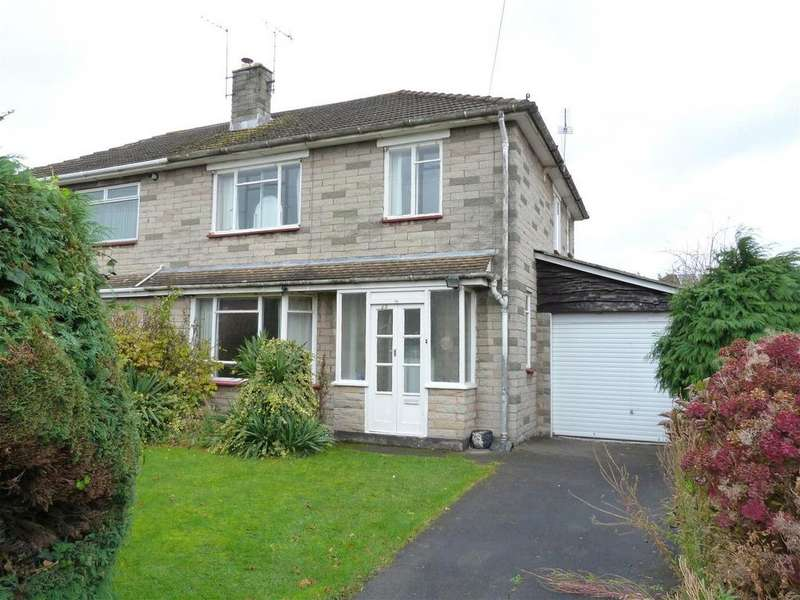 3 Bedrooms Semi Detached House for sale in Yazor Road, Whitecross, Hereford, HR4
