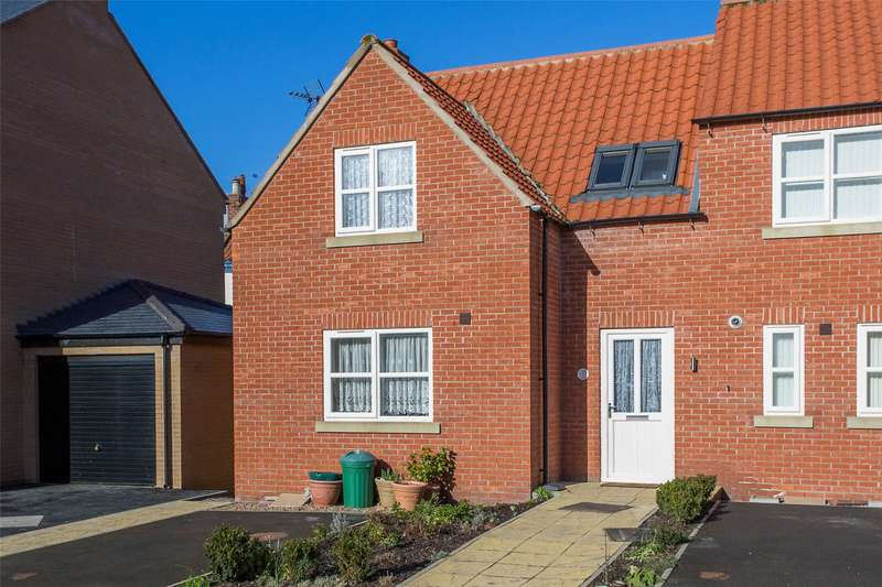 2 Bedrooms Semi Detached House for sale in Chapel House Court, Selby, YO8