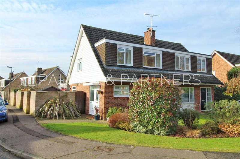 3 Bedrooms Semi Detached House for sale in Bullock Wood Close, St. Johns, Colchester