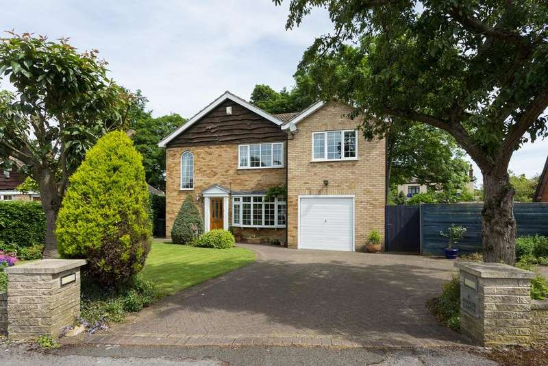 4 Bedrooms Detached House for sale in Manor Garth, Riccall, York, YO19