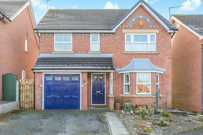 4 Bedrooms Detached House for sale in Partridge Close, Congleton, CW12
