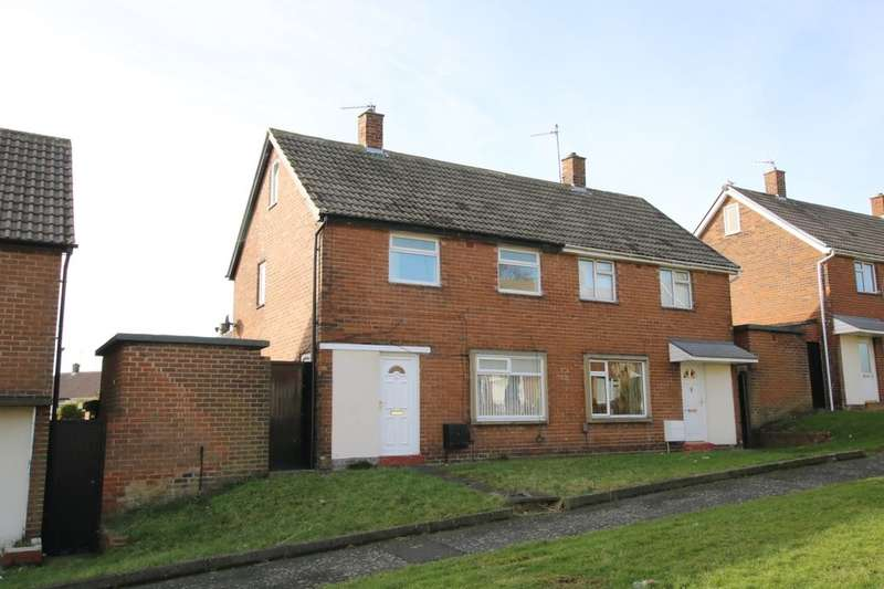 2 Bedrooms Semi Detached House for sale in Coach Road Estate, Washington, NE37