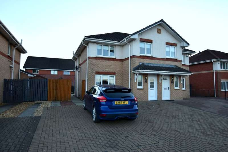 3 Bedrooms Semi Detached House for sale in Heather Gardens, Uddingston, Glasgow, G71