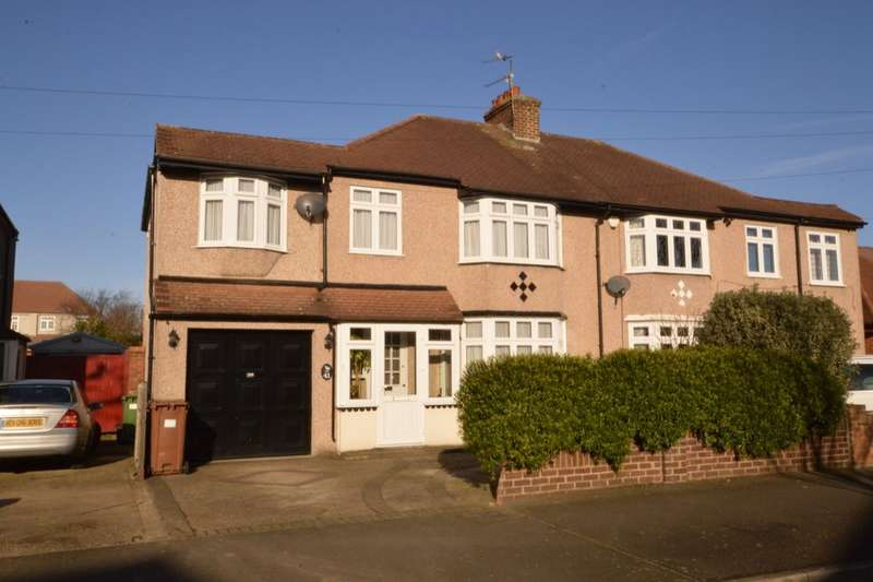 5 Bedrooms Semi Detached House for sale in Heversham Road, Bexleyheath, DA7