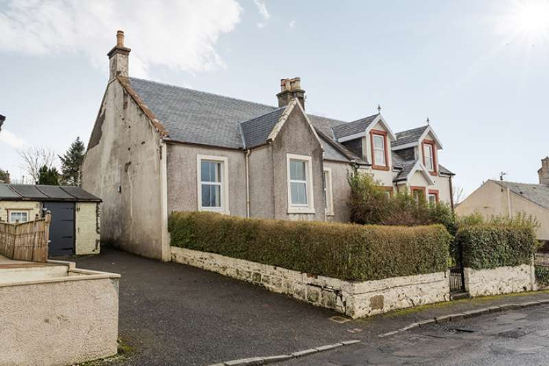 3 Bedrooms Semi Detached Bungalow for sale in Knowehead, Dalmellington, East Ayrshire, KA6 7QW