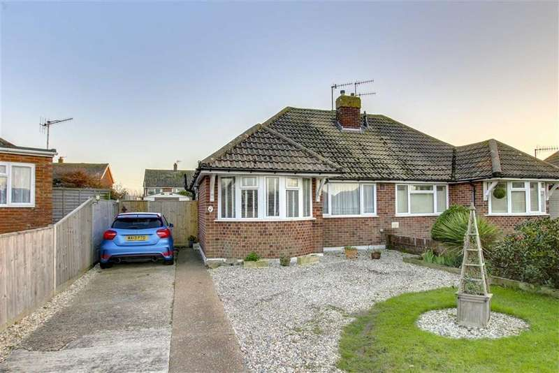 2 Bedrooms Semi Detached Bungalow for sale in Sandgate Close, Seaford