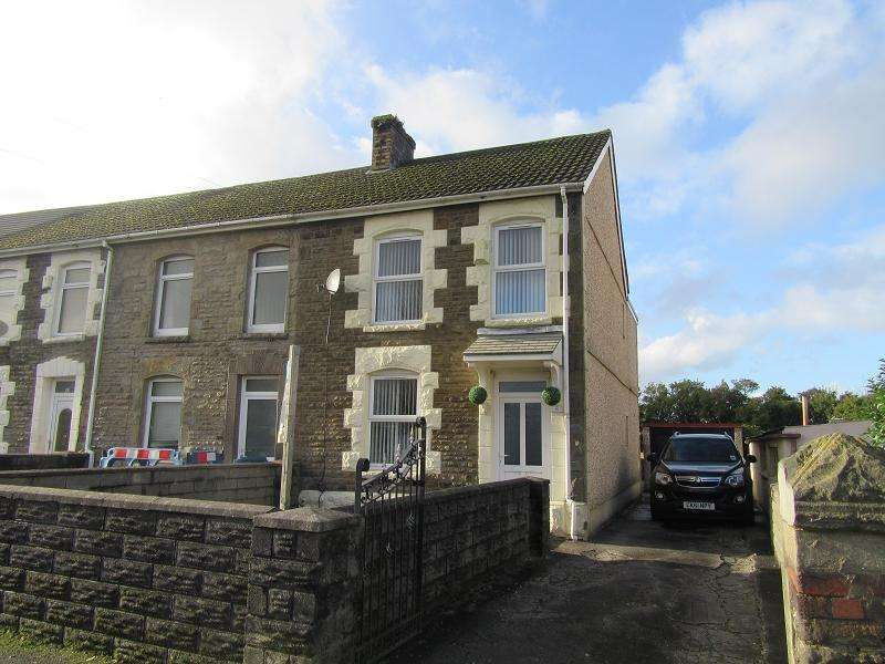 2 Bedrooms End Of Terrace House for sale in Llanerch Road, Bonymaen, Swansea.