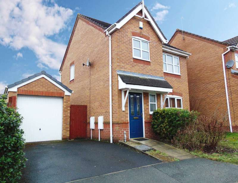 3 Bedrooms Detached House for sale in Leith Place, Copthorn Park