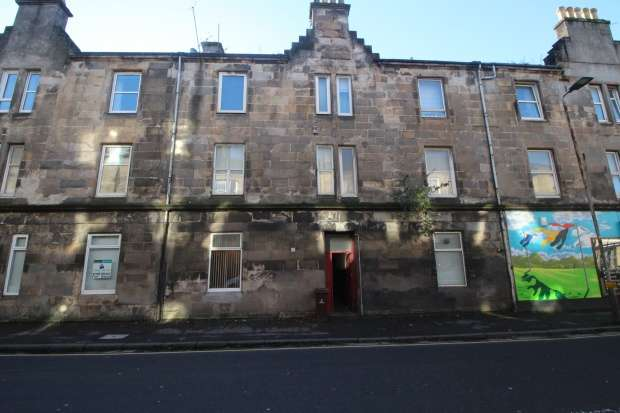 1 Bedroom Flat for sale in Glasgow Road, Dumbarton, Dunbartonshire, G82 1JW