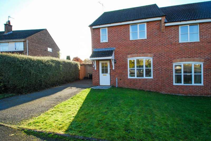 2 Bedrooms Semi Detached House for sale in Bensfield, Leigh, Worcester